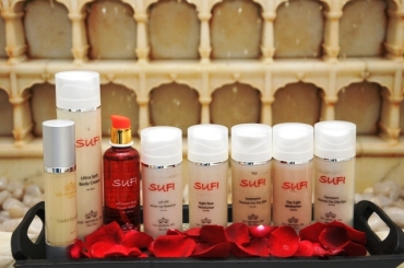SUFI all new skin care range 2013 imperial hotel sufi skin care