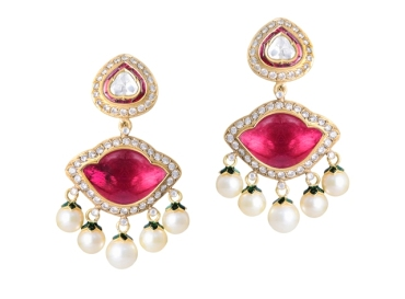 Gemfields Amrapali earrings with Gemfields' Mozambican rubies-CMYK