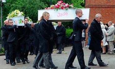 The funerals of the six Philpott children at St Mary's church in Derby on 22 June 2012