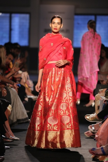 Sanjay Garg Raw Mango Amazon India Fashion Week SS16