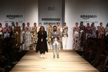hemant and nandita the chatterjis amazon india fashion week